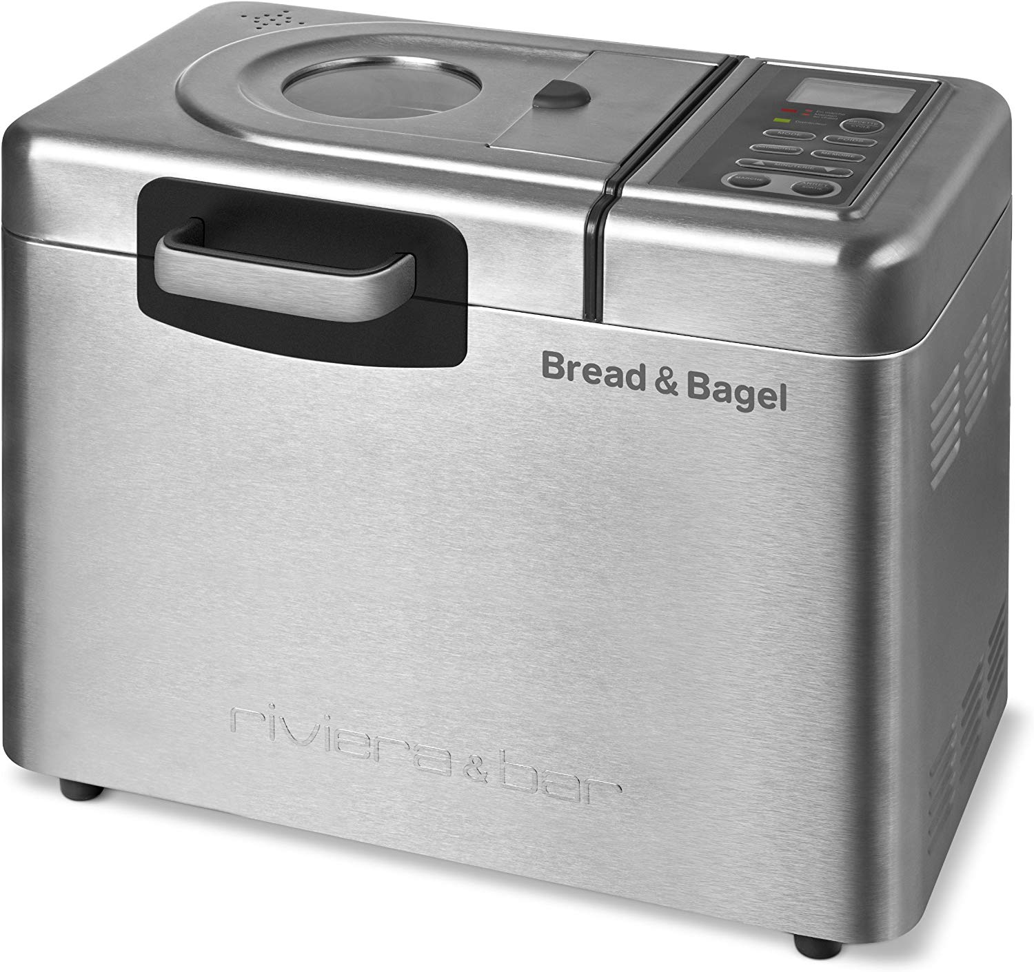 Riviera & Bar QD794A Bread & Bagel Machine à Pain Inox